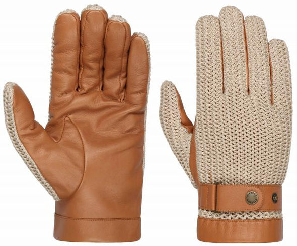 Stetson - Gloves Nappa & Knitted