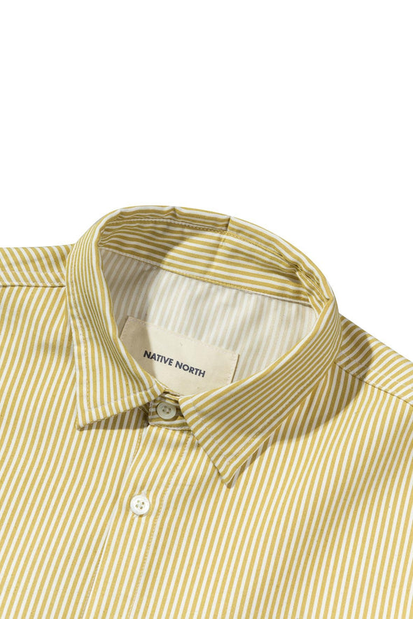 Striped Bureau Shirt Yellow - Native North