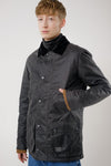 Curtis Wax Jacket, Grey - Brixtol