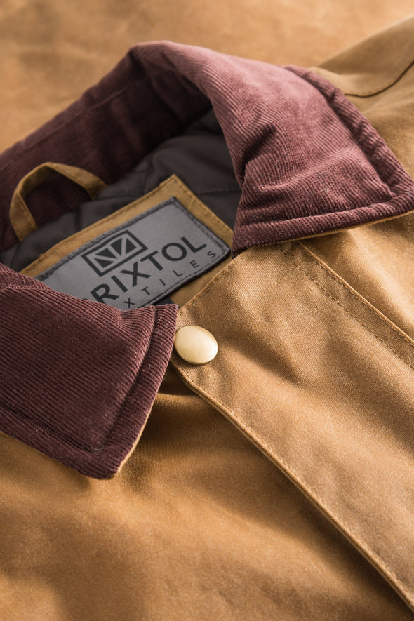 Curtis Wax Jacket,  Sand - Brixtol