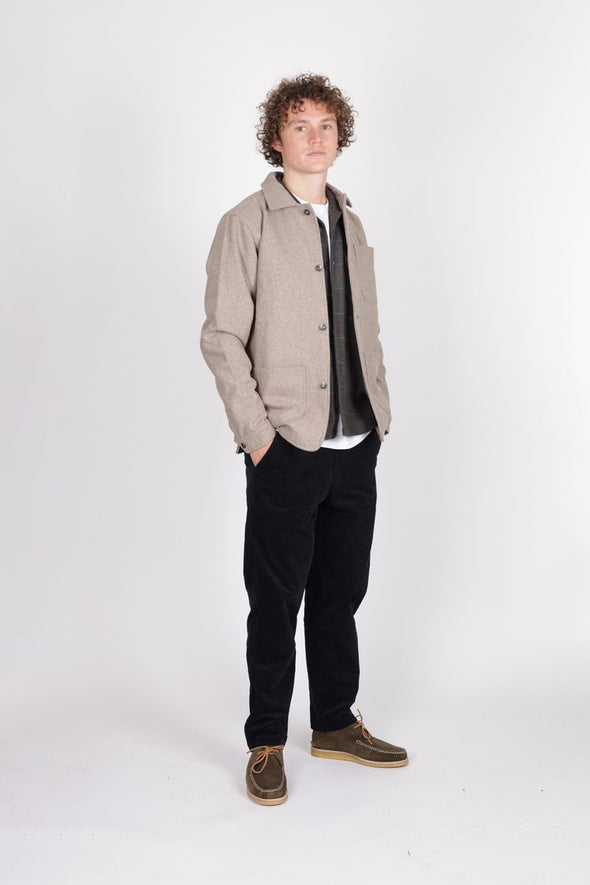 Wool Utility Jacket Dirt - Native North