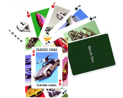 Classic Cars -Playing Cards
