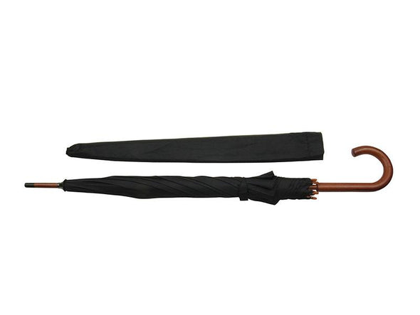 Umbrella with wood handle - MJM