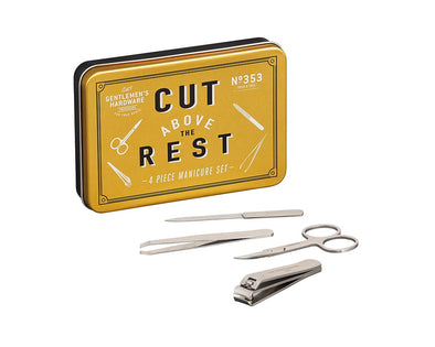 Manicure Set In Tin - Gentlemens Hardware