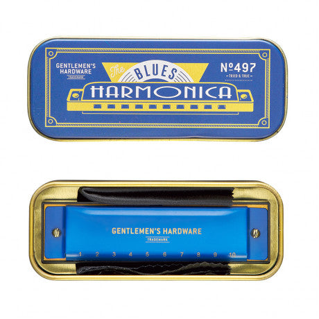 Harmonica Blues - Gentlemens Hardware