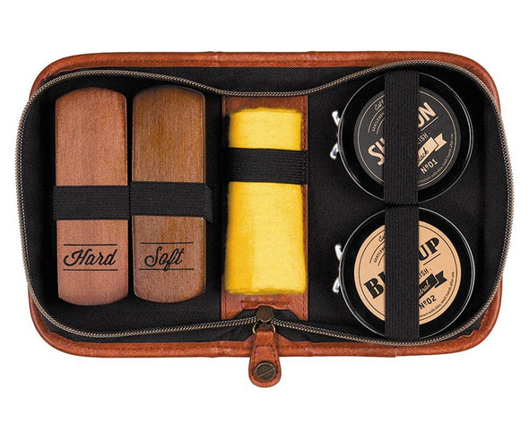 Buff n Shine Shoeshine kit - Gentlemen's Hardware