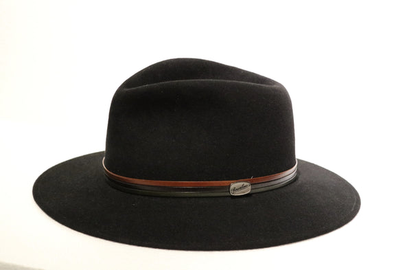 Borsalino - Safari Fur Felt Black