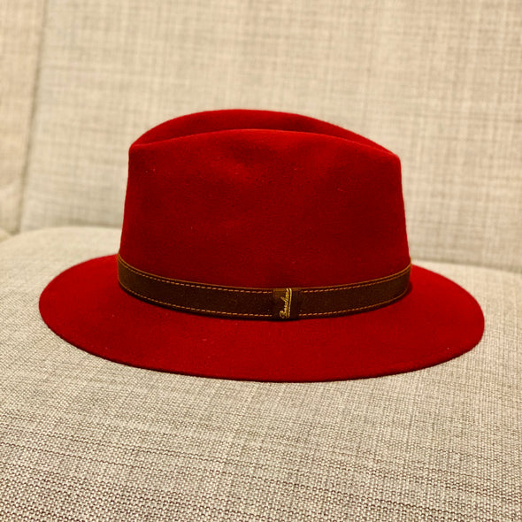 Borsalino - Casual Fur Felt, Red