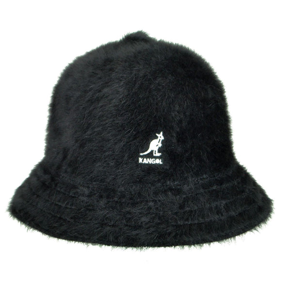 Kangol - Fur Casual Bucket Hat Black