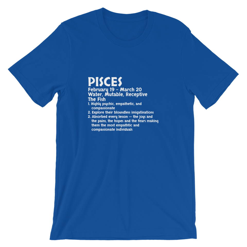 Pisces Definition T-Shirt