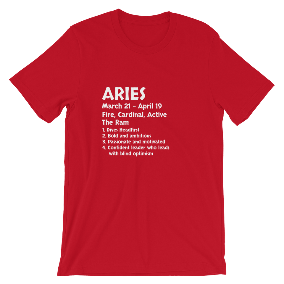 Aries Definition T-Shirt