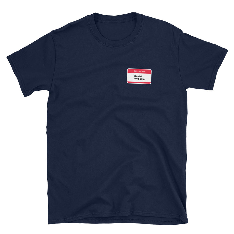 Gemini Uniform Unisex T-Shirt