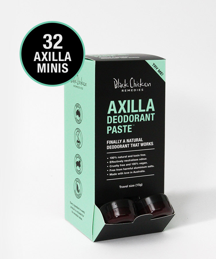 Counter Top Axilla Deodorant Paste™ Original - mini box of 32