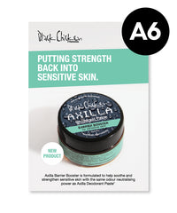 Axilla Deodorant Paste™ Barrier Booster - A6 Flyer - Pack of 25
