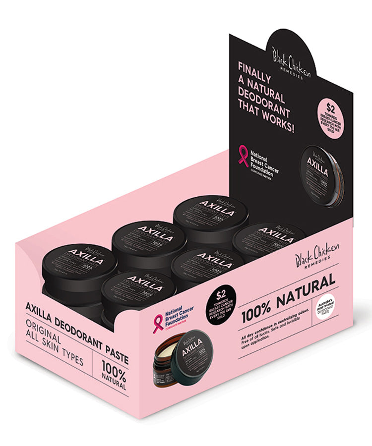 Axilla™ Deodorant Paste Original - Pink Edition 12 Pack