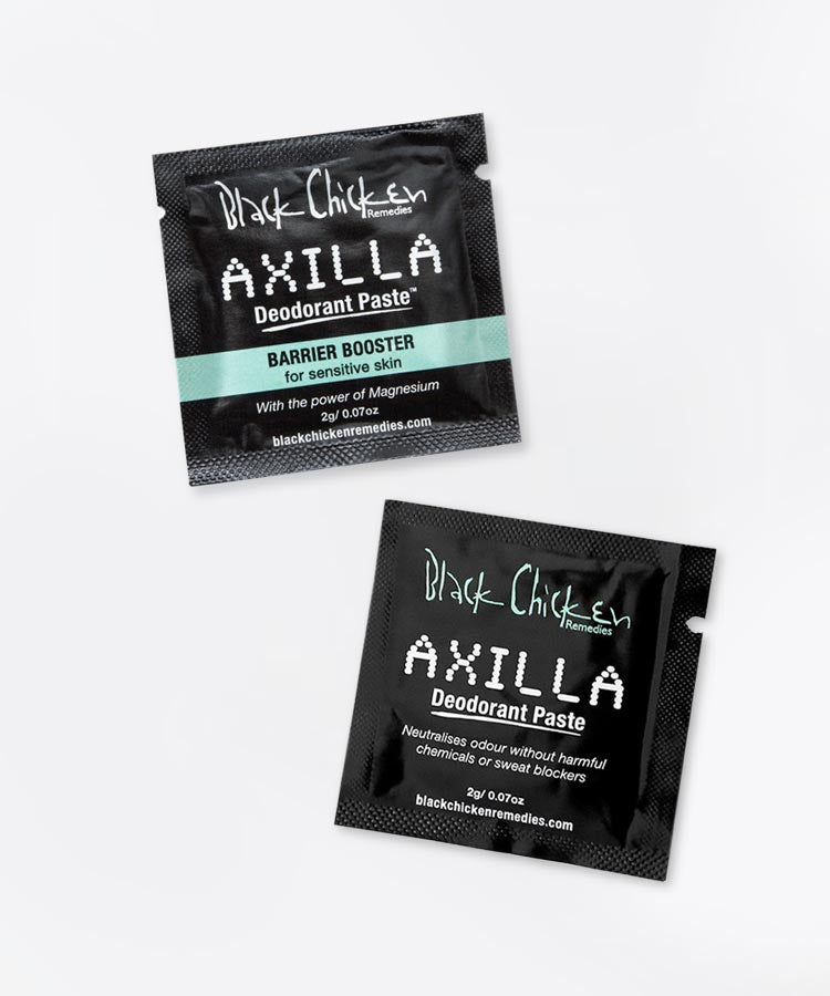 Mixed trial sachet pack - Axilla Deodorant Paste™ box of 50