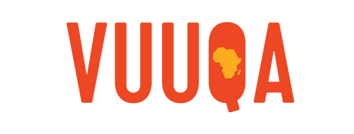 Vuuqa Logo. Online marketplace that sells African brands.
