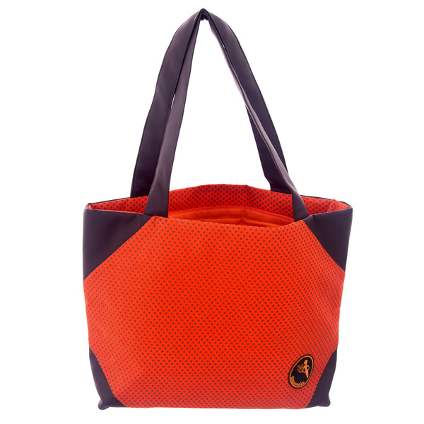 Namuddu Shweshwe Tote Bag - Orange