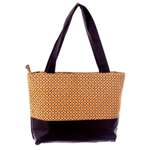 Namuddu Shweshwe Tote Bag - Yellow