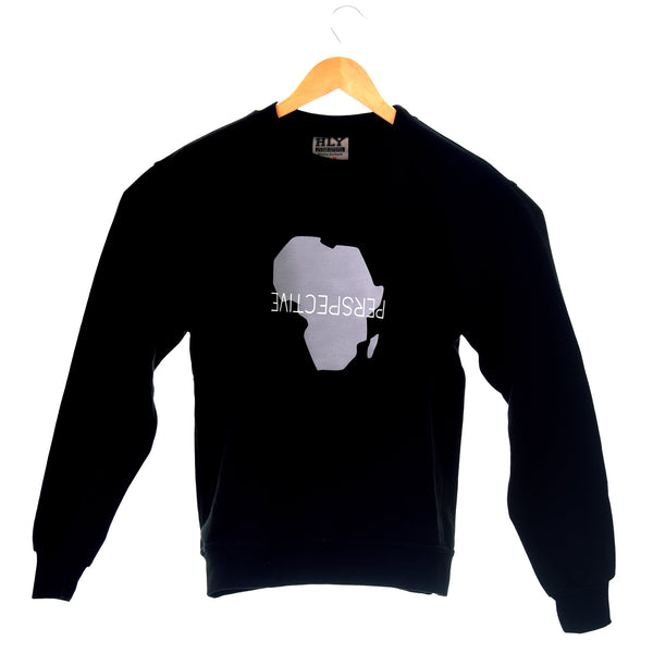 "Crew Neck ""Perspective"" Sweater"