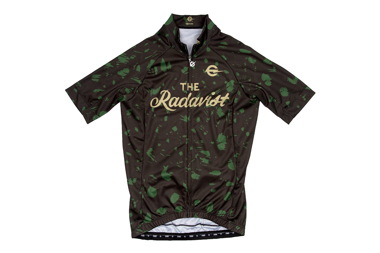 Disruptive Coloration Road Jerseys: Green