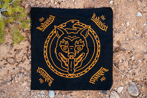 Bandana - Eternal Jackal - Black