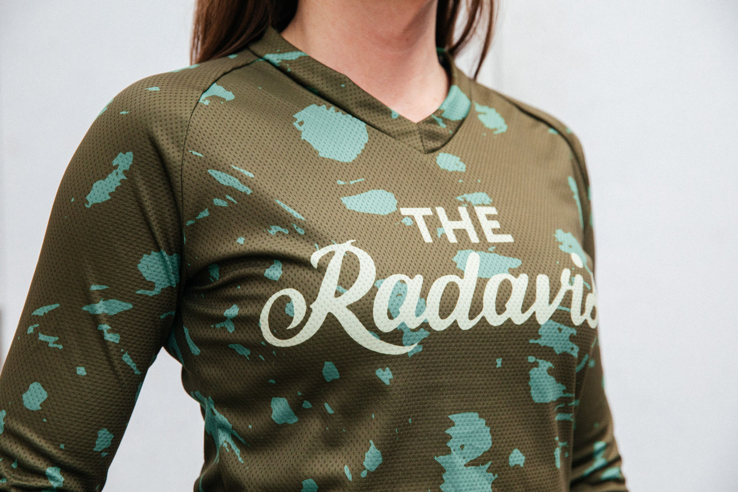 Disruptive Coloration Dirt Long Sleeve Jerseys: Green