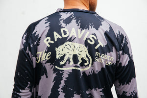 Disruptive Coloration Dirt Long Sleeve Jerseys: Black