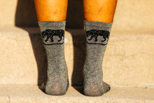 Load image into Gallery viewer, Socks - Jackal - Sage Green Heathered Wool