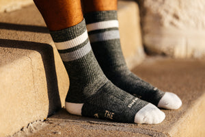 Sage and Talc Wooly Socks