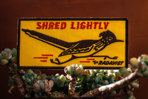 Shred Lightly Patch