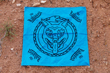 Load image into Gallery viewer, Bandana - Eternal Jackal - Turquoise