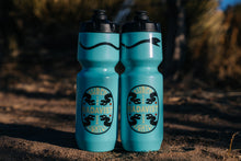 Load image into Gallery viewer, Water Bottles - Shred Lightly - Turquoise Snake