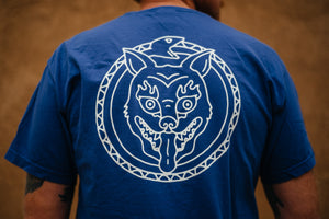 T-Shirt - Eternal Jackal - Cobalt