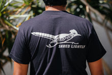 Load image into Gallery viewer, T-Shirt - Shred Lightly - Black