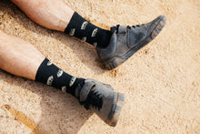 Load image into Gallery viewer, All Over Jackal Socks in Black