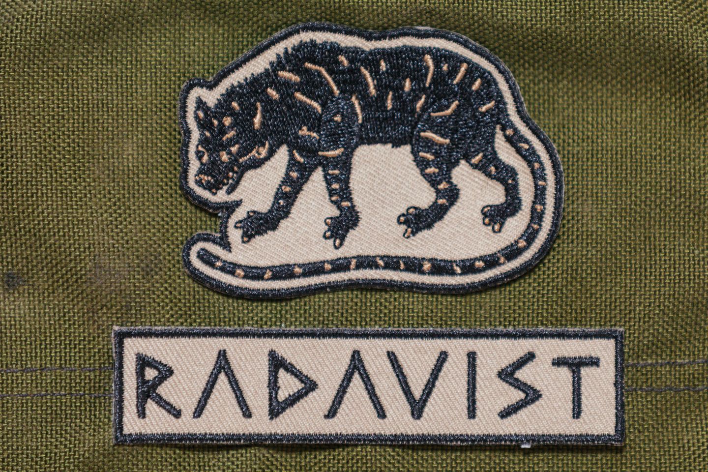 Desert Rat Patches - Set of 2