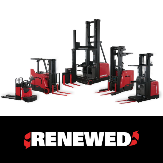 RAYMOND FORKLIFTS: USED