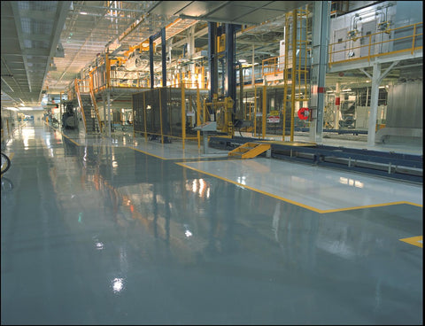 Benefits of floor coating in your warehouse
