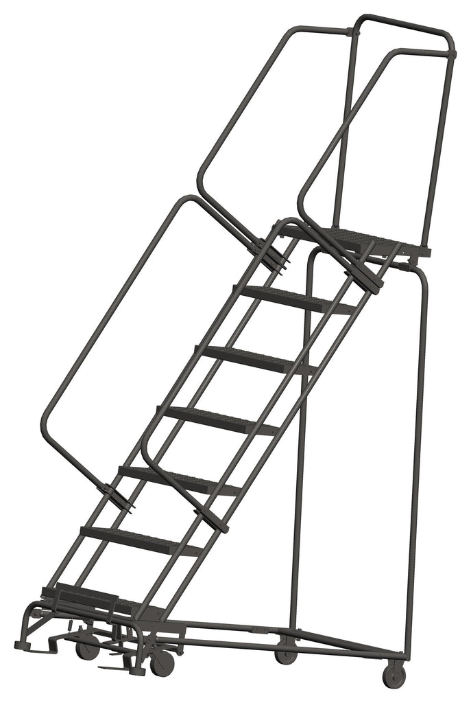 Balleymore Perforated Tread Rolling Ladders