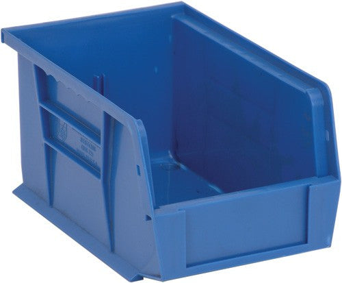 "Ultra Series Stack and Hang Bin | Model QUS221 | Blue | 9 1/4"" x 6"" x 5"""