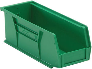 "Stack and Hang Storage Bins 10 7/8"" x 4 1/8"" x 4"" 12 Pack"