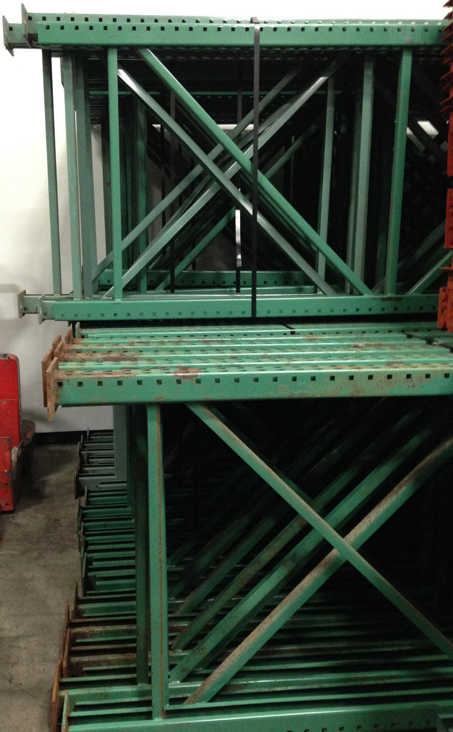 "Upright Pallet Racking - Used 192"" x 42"""