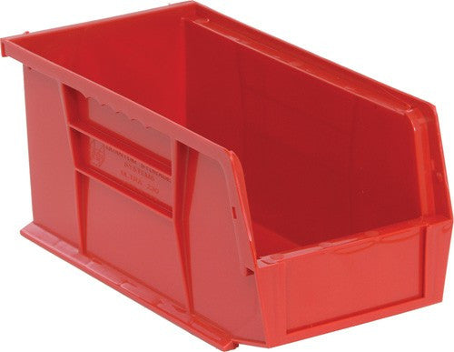 "Stack and Hang Storage Bins 10 7/8"" x 5 1/2"" x 5"" 12 Pack 