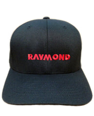 Raymond Hat Front in Black