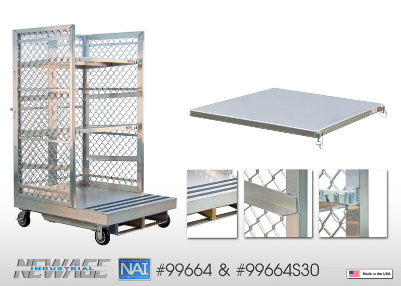 Orderpicker Cart With Shelves