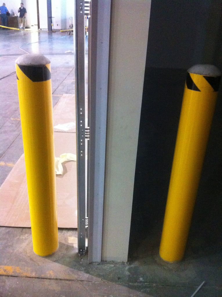 Direct Bury Steel Bollard | SaveTy Yellow Products