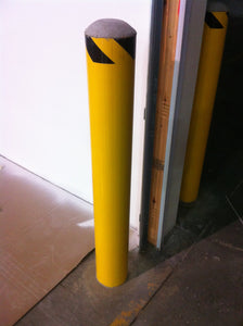OD Direct Bury Steel Warehouse Bollard 8.5""