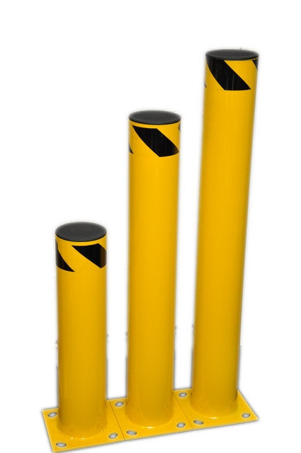 Economy Steel Bollard | SaveTy Yellow Products