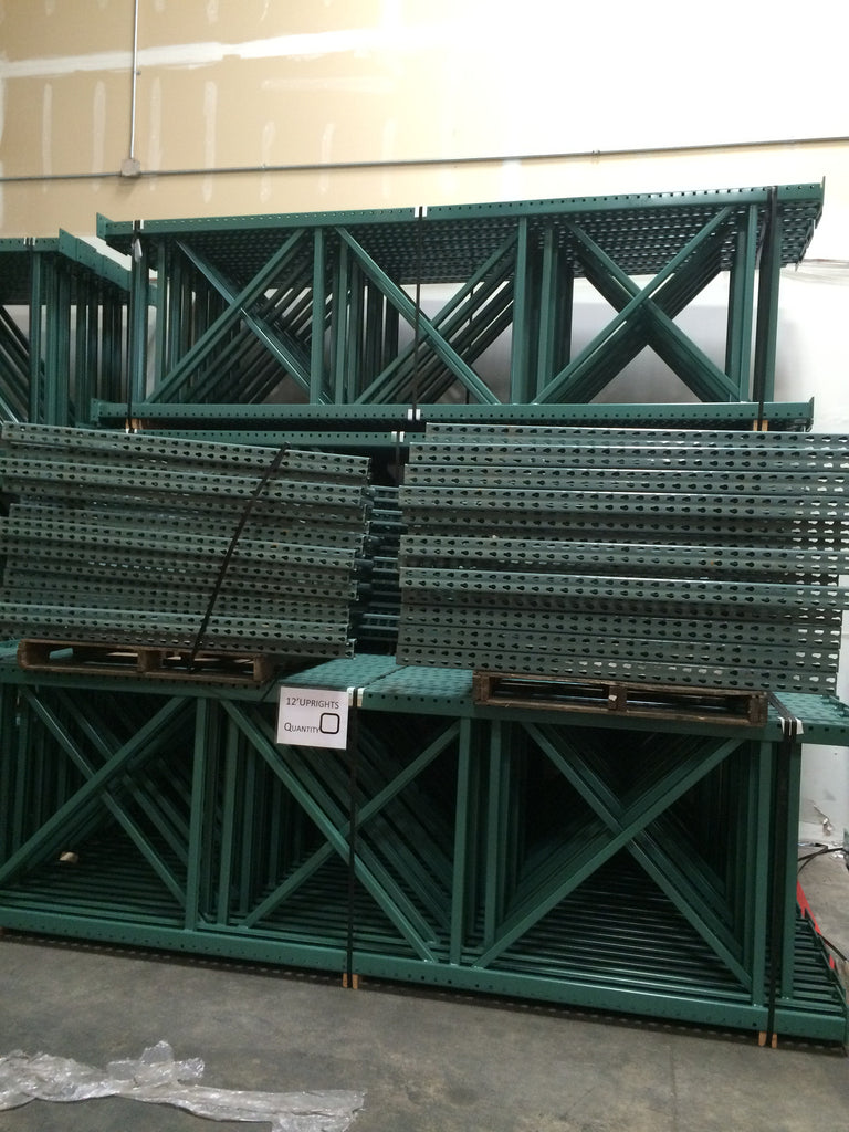 Roll-Formed Upright | Pallet Rack | Warehouse